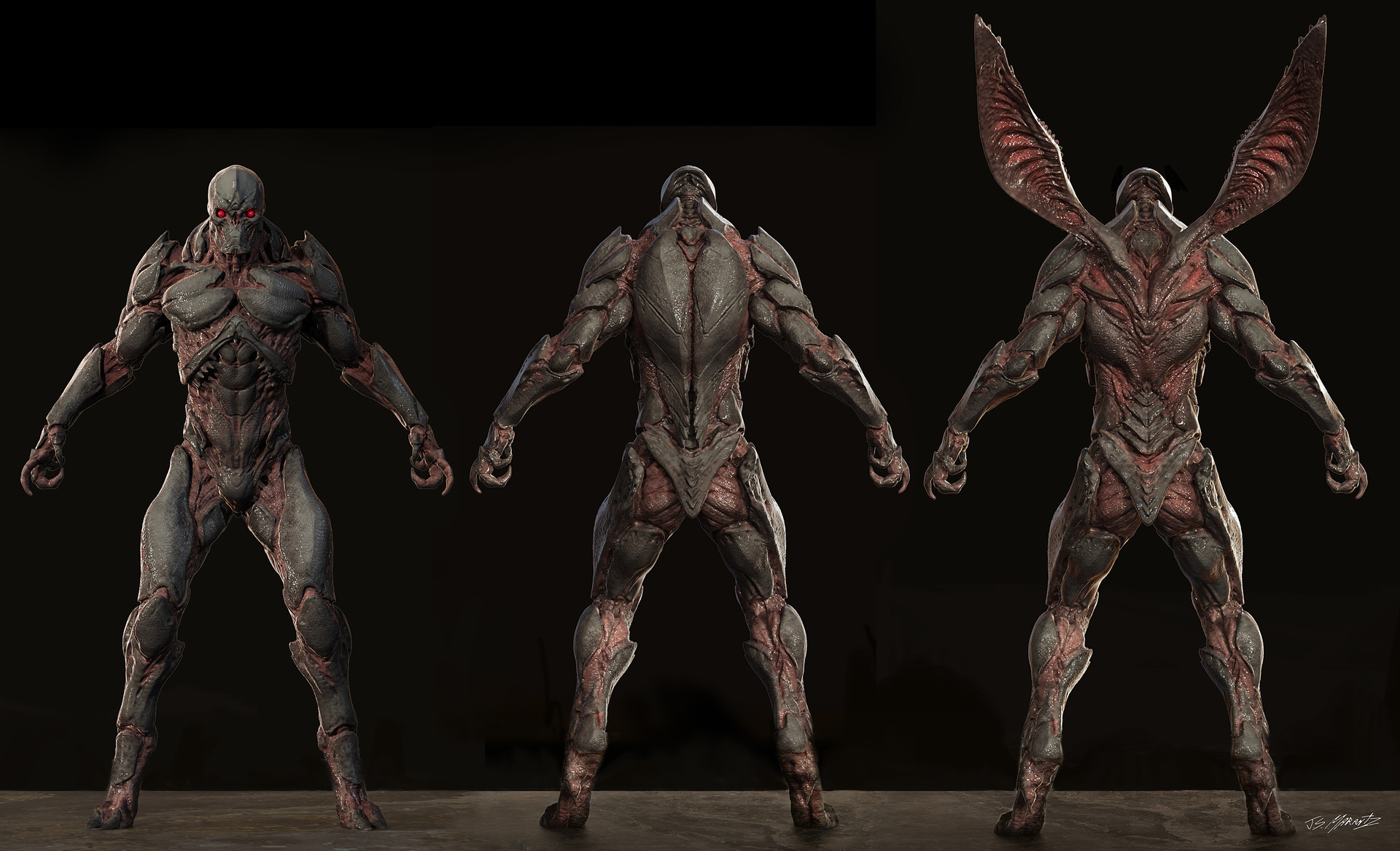 Darkseid; Parademônios