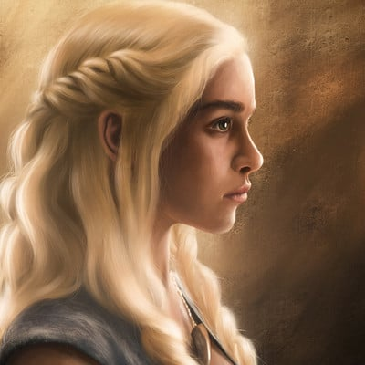 Shawn duddridge daenerys portrait v01