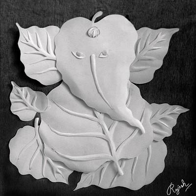 Rajesh r sawant leaf ganesh