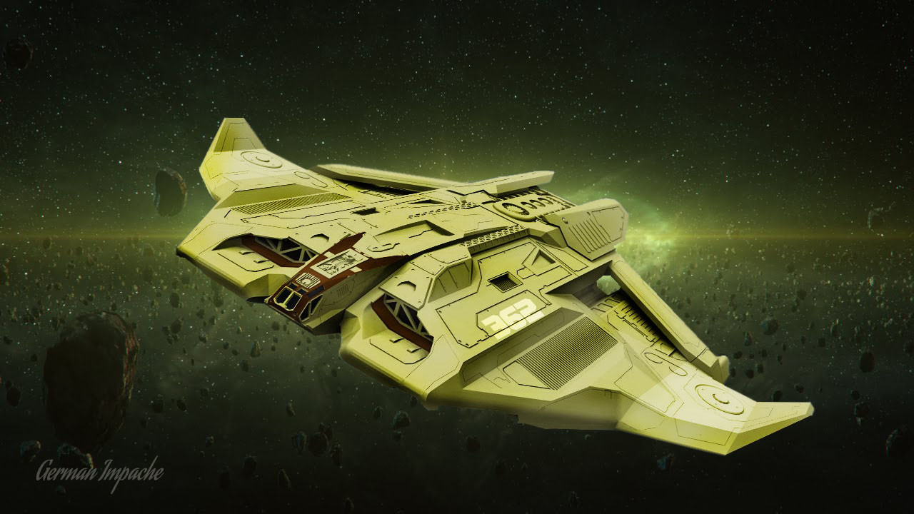 Deep Space heavy penetration strategic bomber