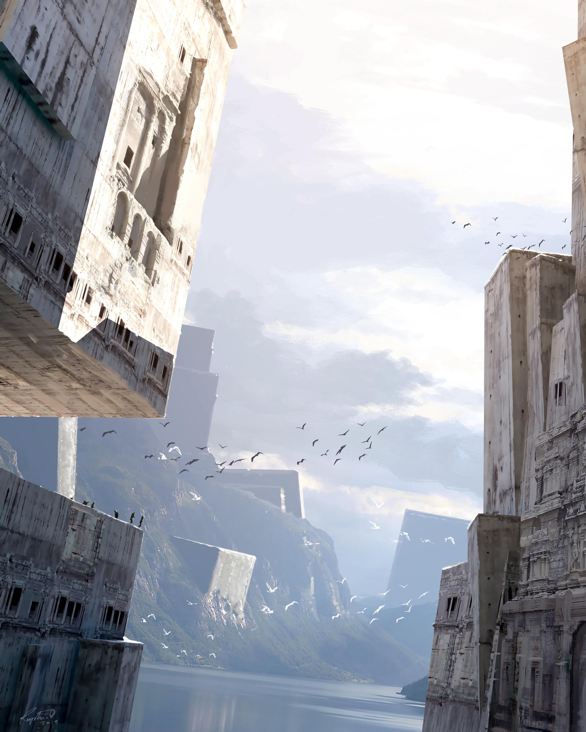 Raphael lacoste monoliths odyssey raph