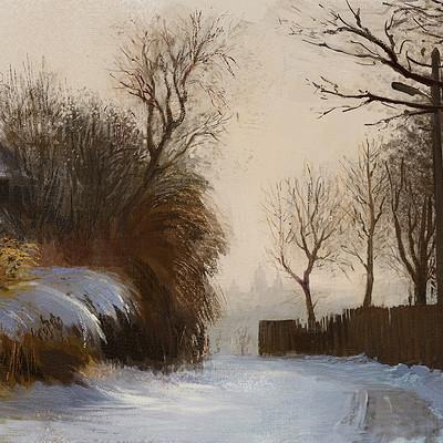 Tymoteusz chliszcz landscape winter4 by chliszcz