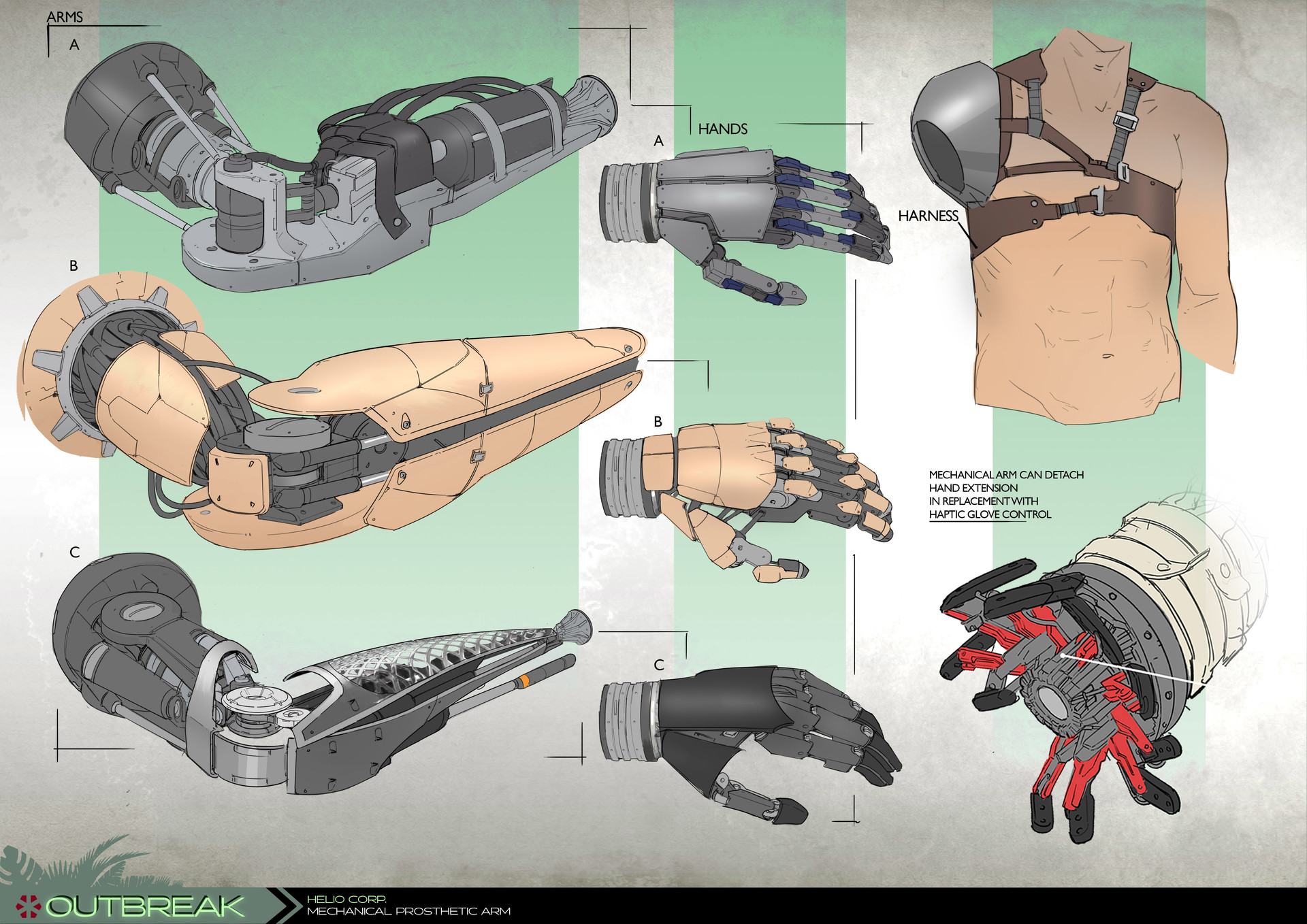 Project Outbreak - Mechanical Prosthetic Limb