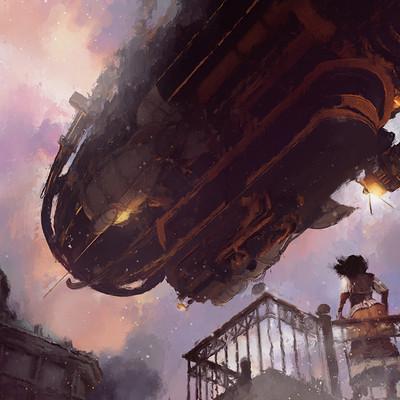 Glenn porter airship