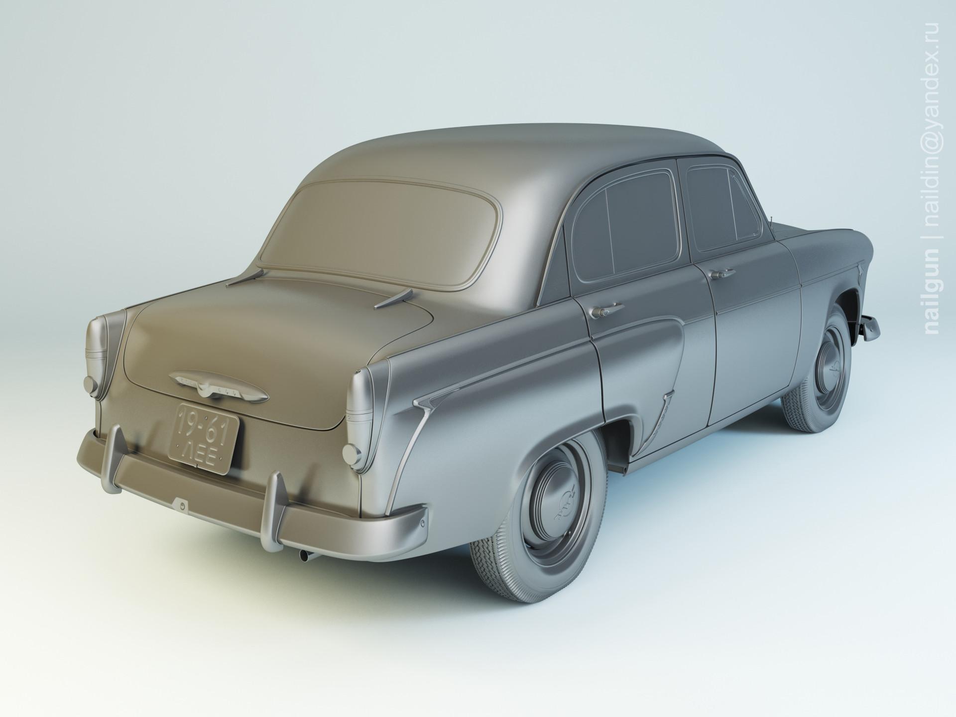 Nail khusnutdinov al 141 003 moskvich 407 modelling 1