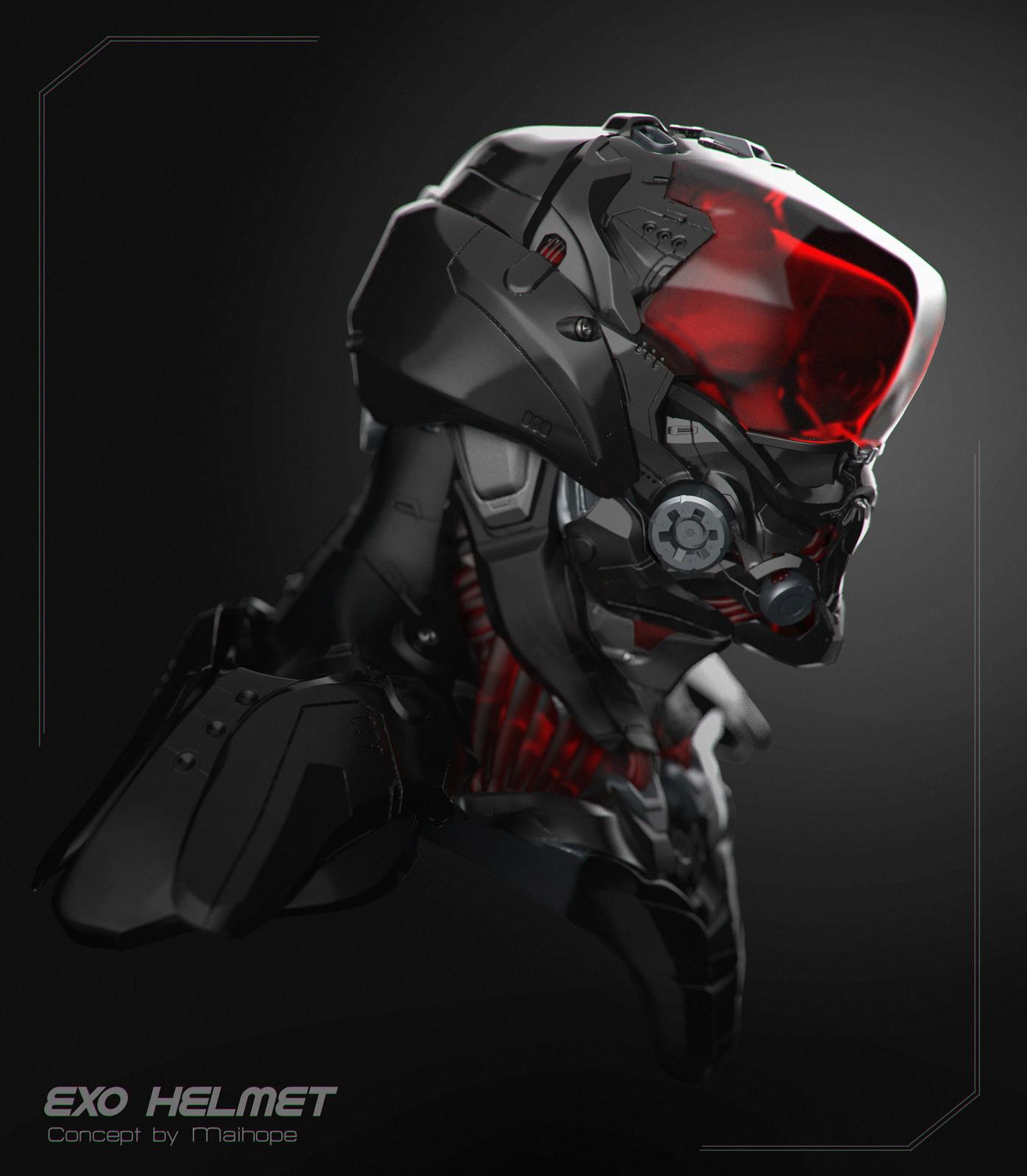 Exo-Helmet Concept