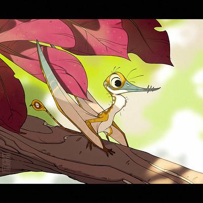 Alberto camara little pterosaur