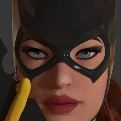 Dimax esteban araujo batgirl