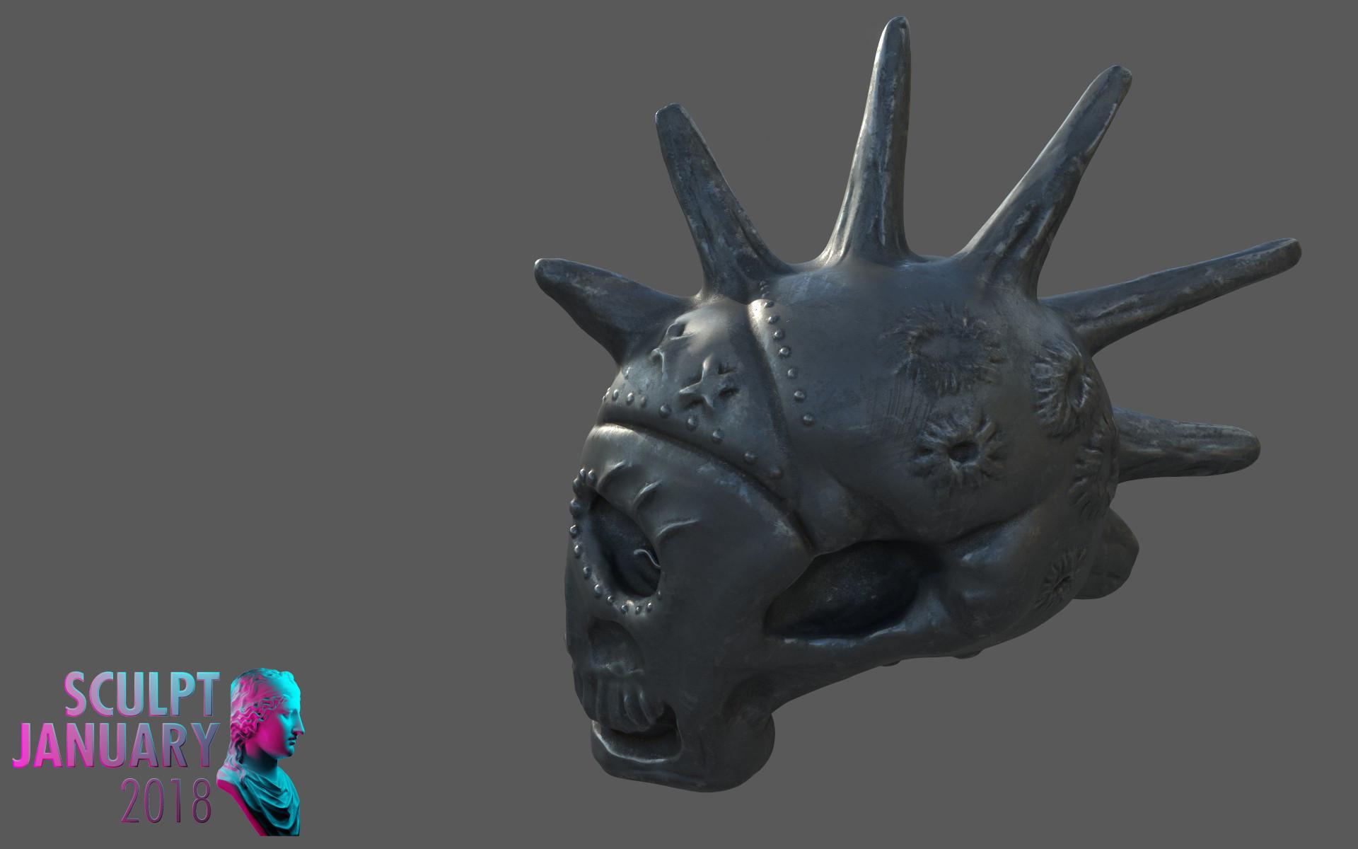 Matej chalachan skull material