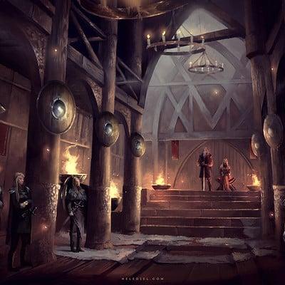 Nele diel viking hall