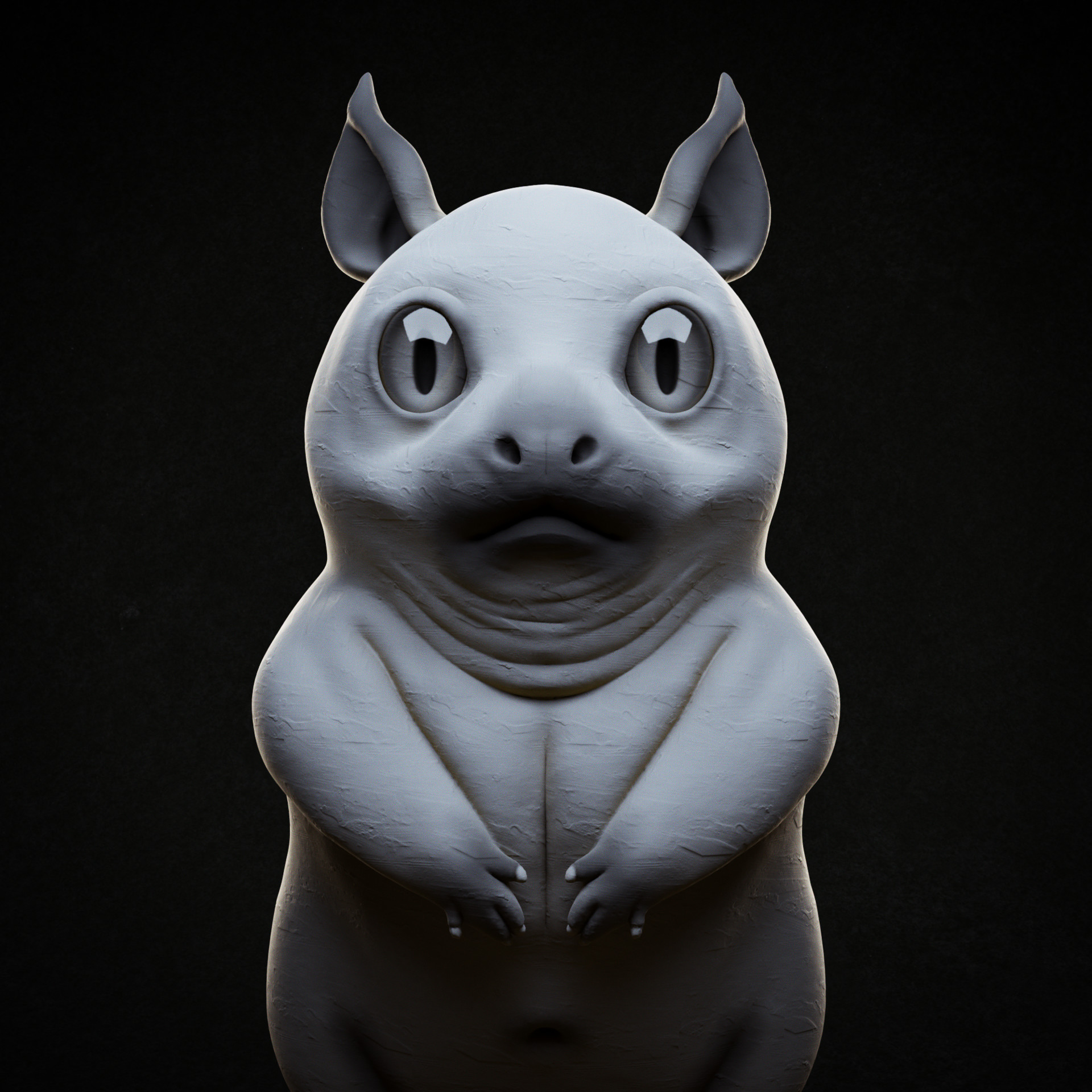 Day 08: Eyes (based on an artwork by Roberto Padula: https://www.artstation.com/artwork/04Pk8)
