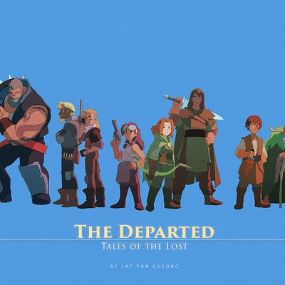 Lap pun cheung the departed character compilation 001 online