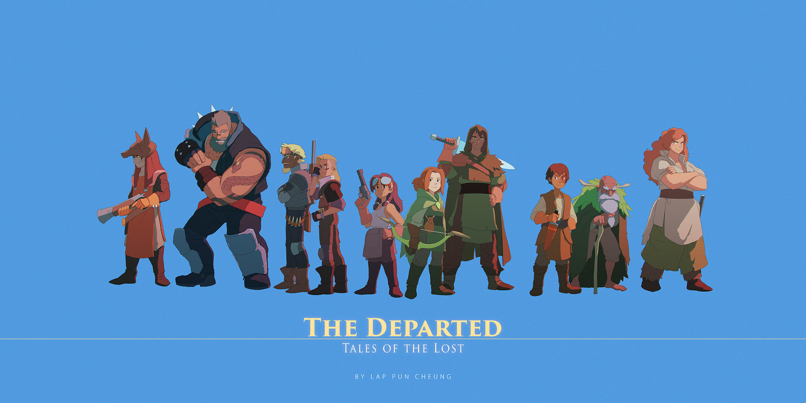 The Departed: Tales of the Lost - The Cast