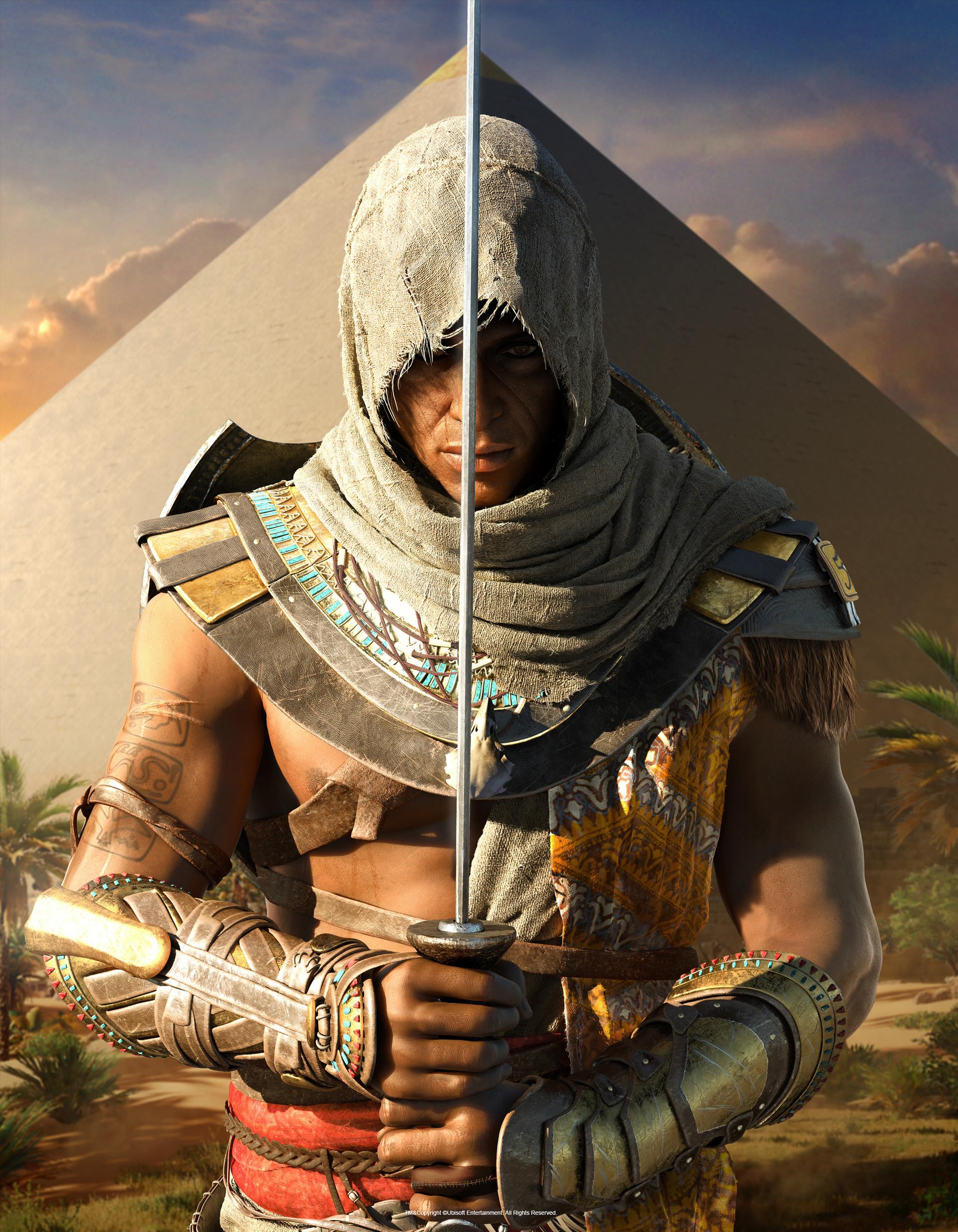 Artstation Assassin S Creed Origins Bayek Magazine Cover