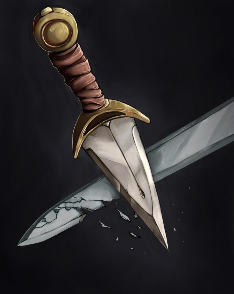 Ken kokoszka 11 swordbreaker dagger rgb