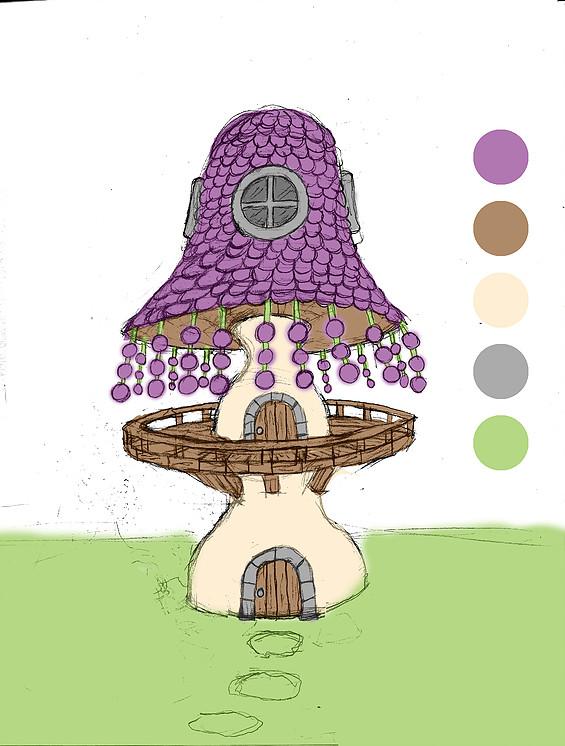 Color sketch concept