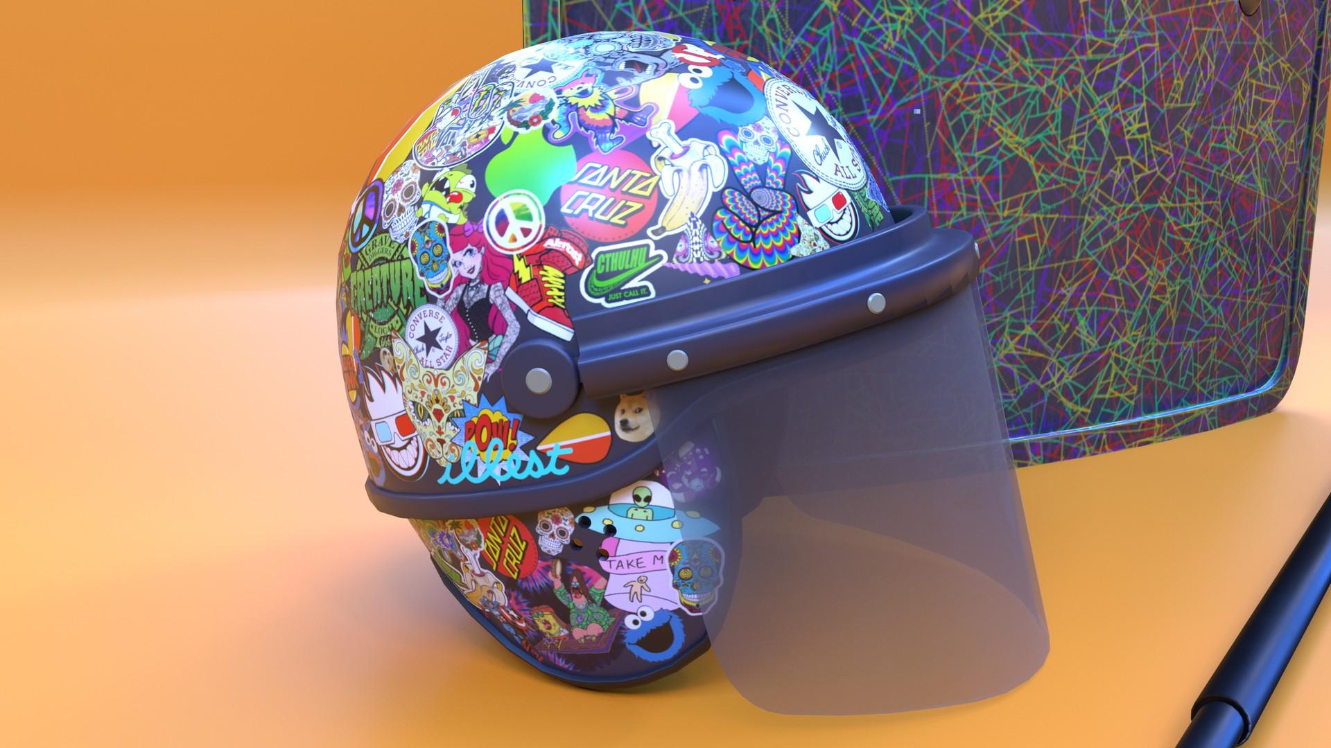 Andrew moore helmet shot 4k