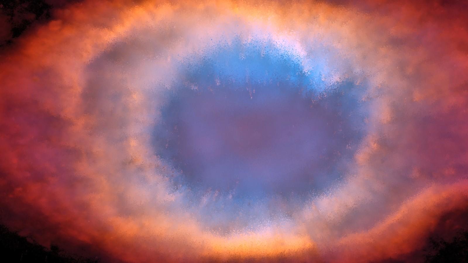 Helix Nebula - 3D Remake