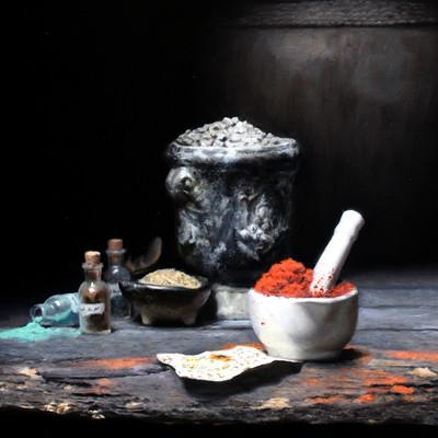 Bruno galuzzi corsini alchemist table