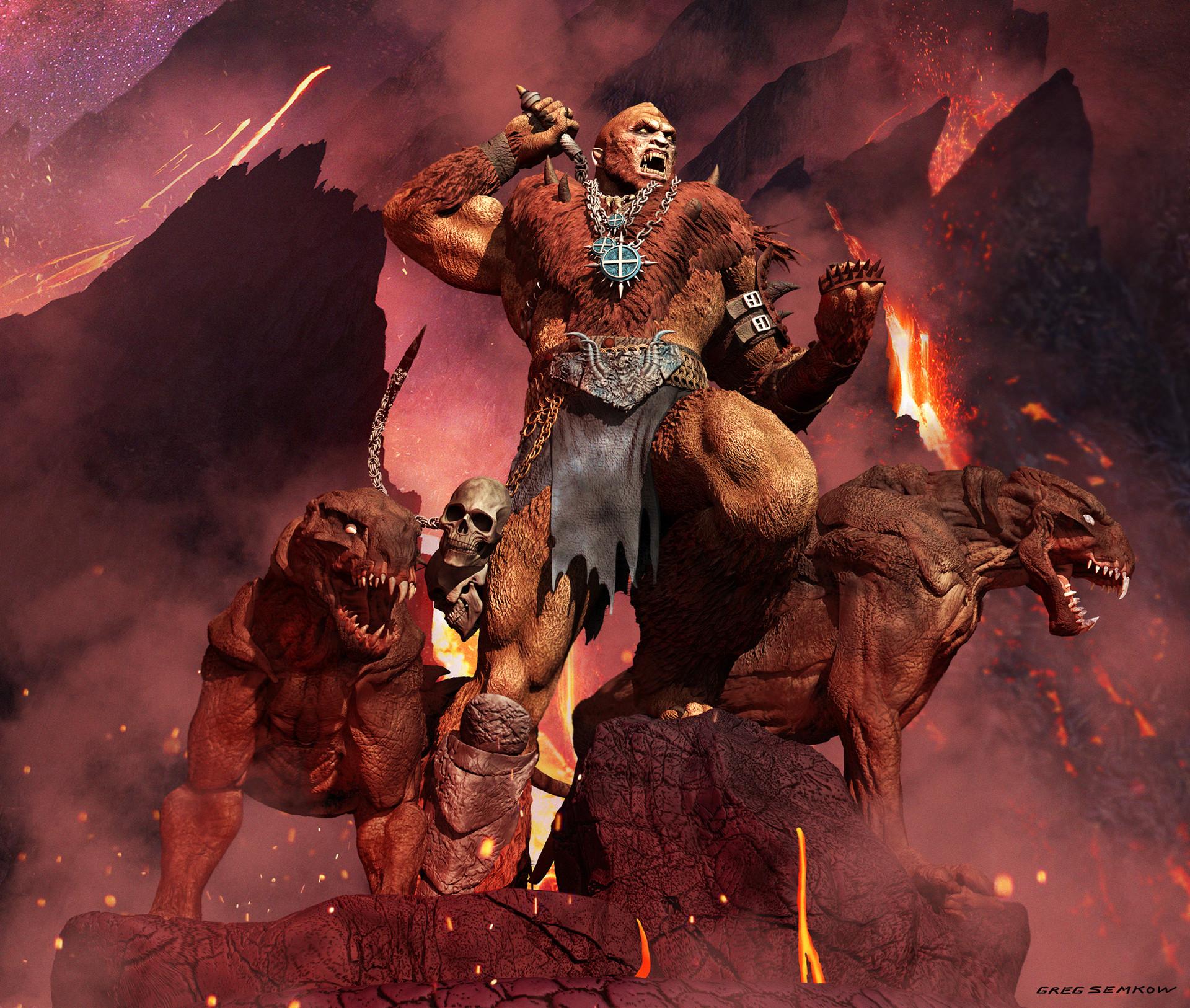 Greg semkow beastman 3