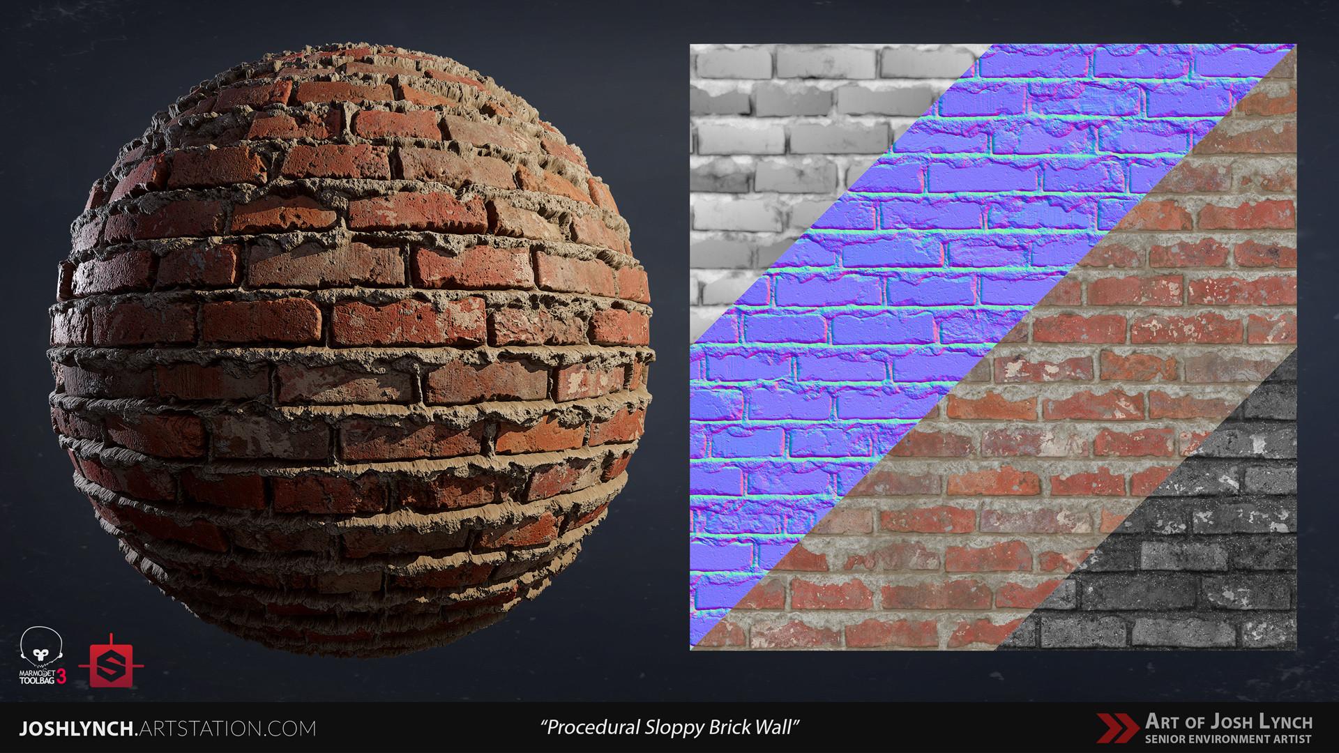 Joshua lynch wall brick sloppy 02 comp sphere 02