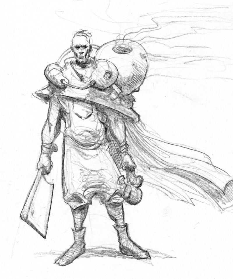Michal rachwal sketch bubbleman
