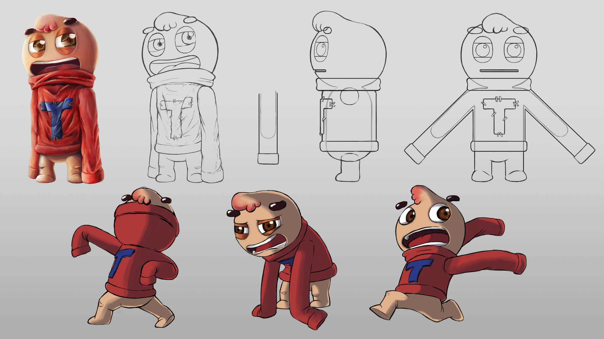 Character Design Challenge Concept : Character design references