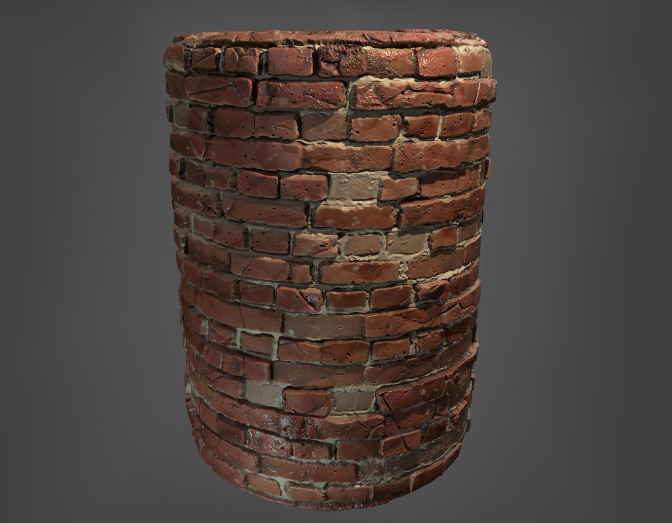 Giacomo bonanno brick cylinder