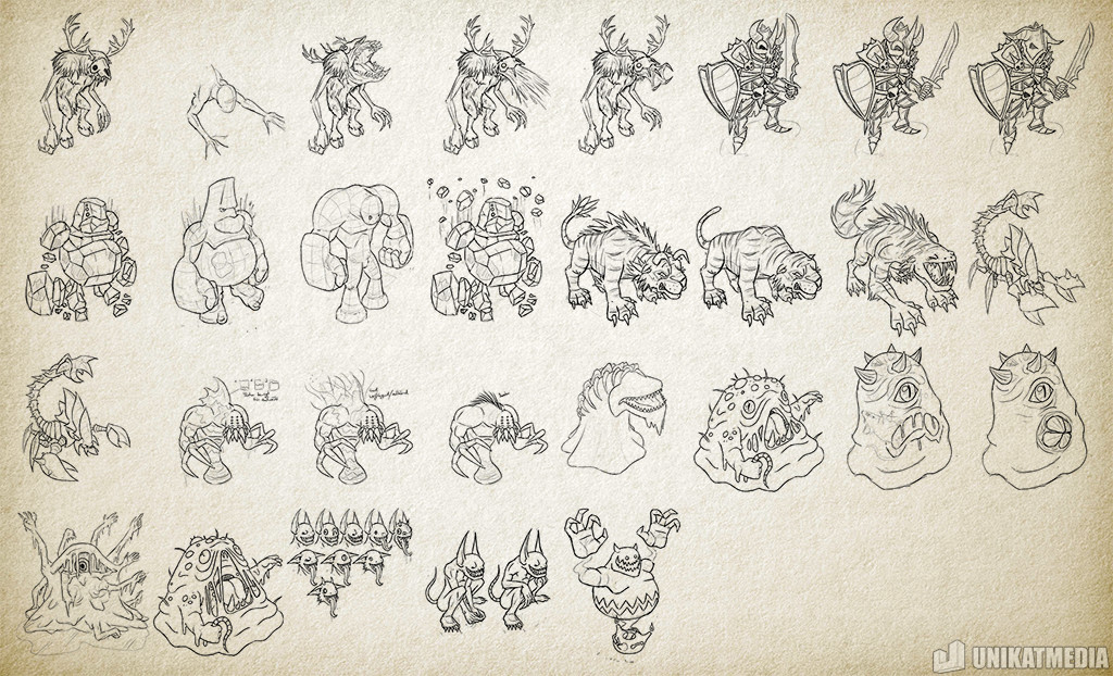 Marcel bartsch ed sketches