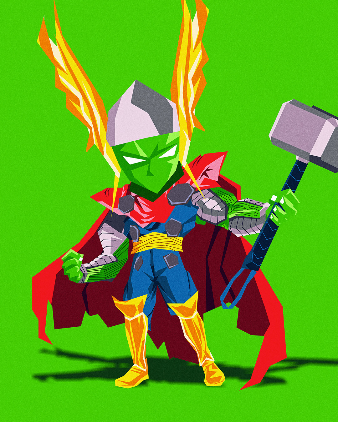 Character only - Piccolo x Thor
