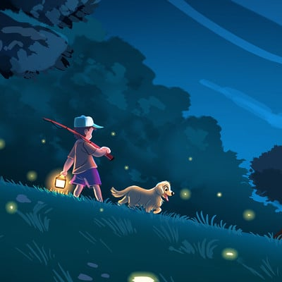 Vipin jacob night walk with the fireflies
