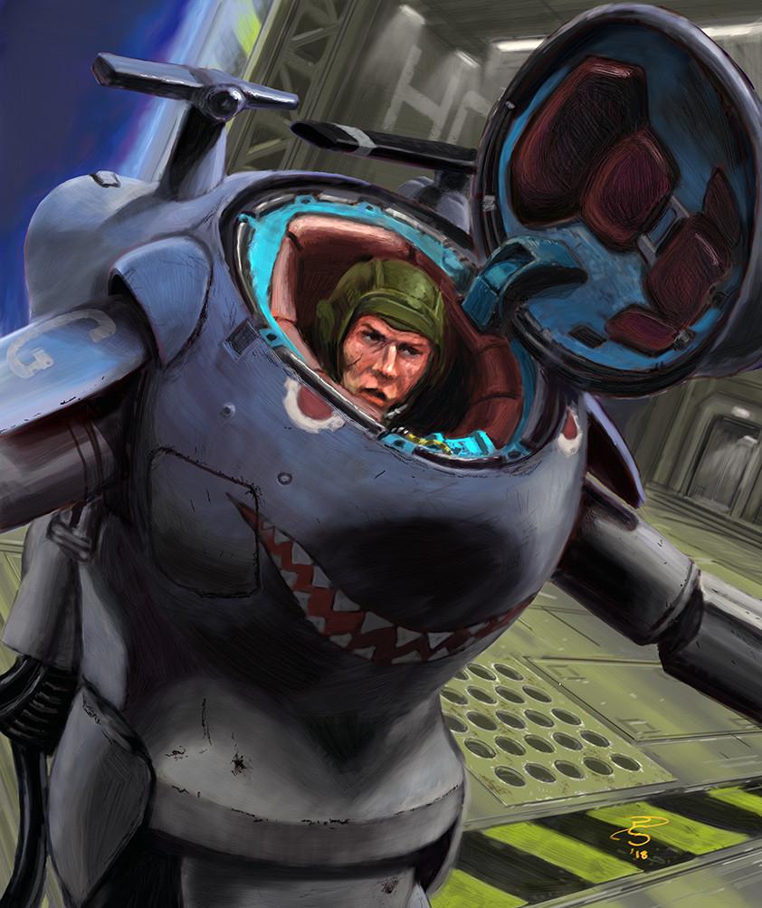 """Maschinen Krieger """"Snake-Eye"""""""