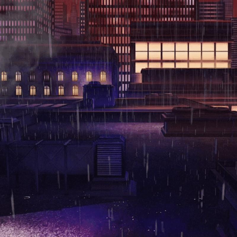 Rainy Rooftops