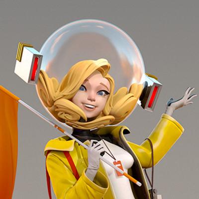 Mido lai astrogirl beautyshot