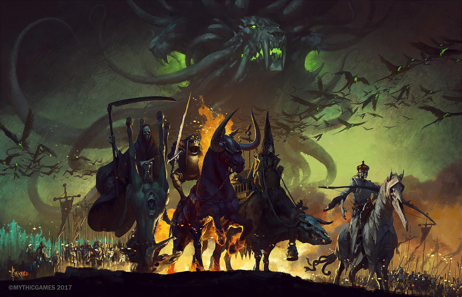 Bayard wu four horsemen of the apocalypse