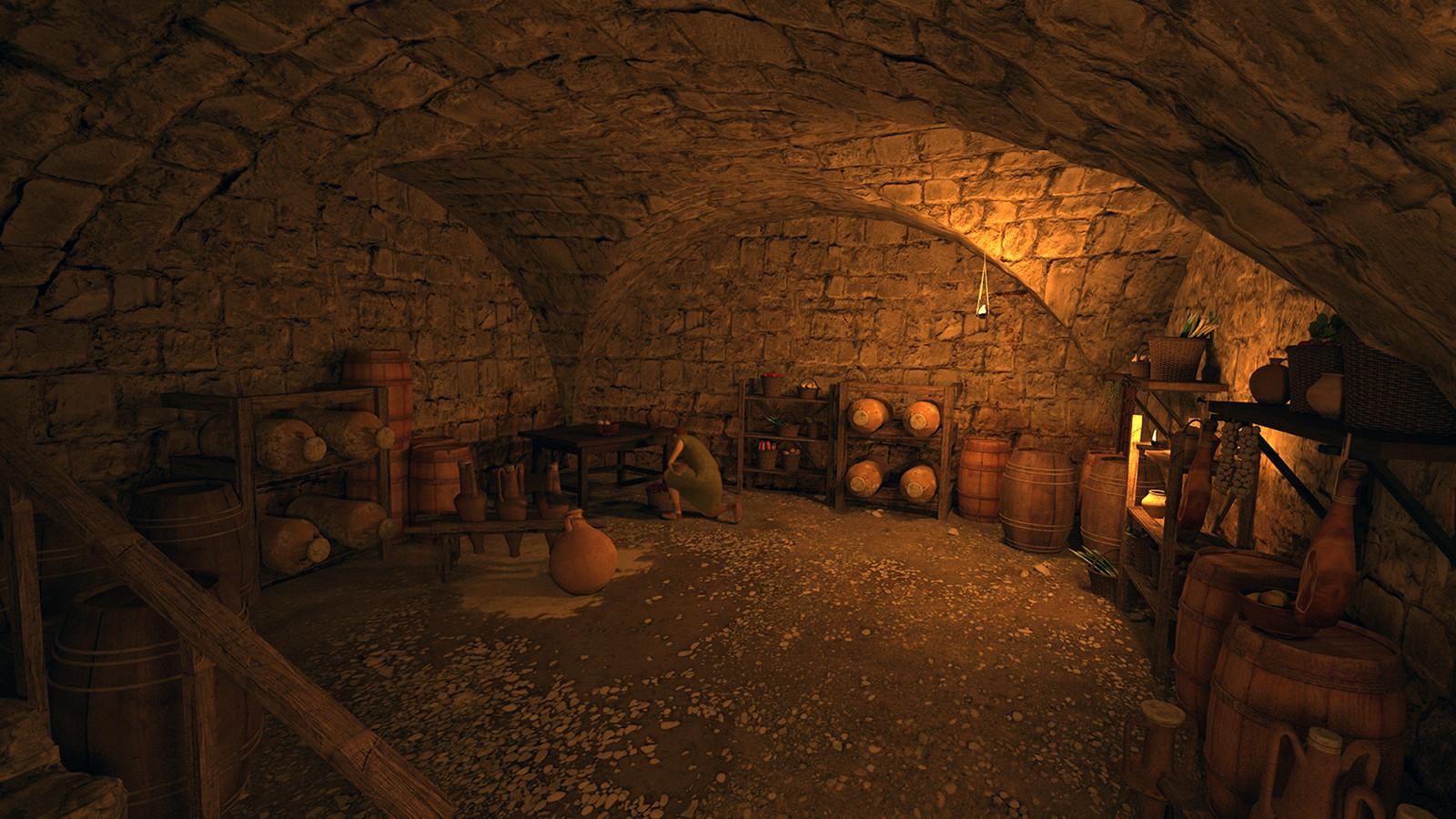 Roman cellar