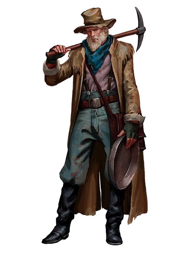 Javier Charro  Western Characters