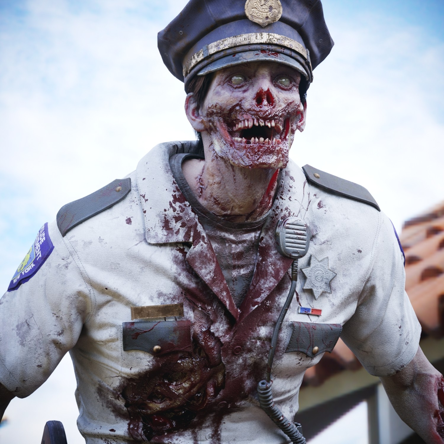 Undead Police Officer
