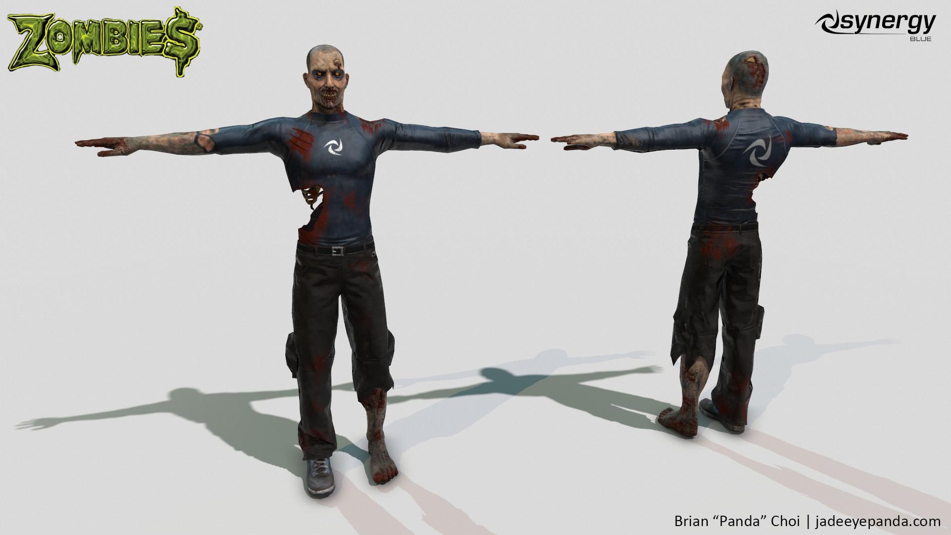 Brian panda choi zombie synergyblue model1