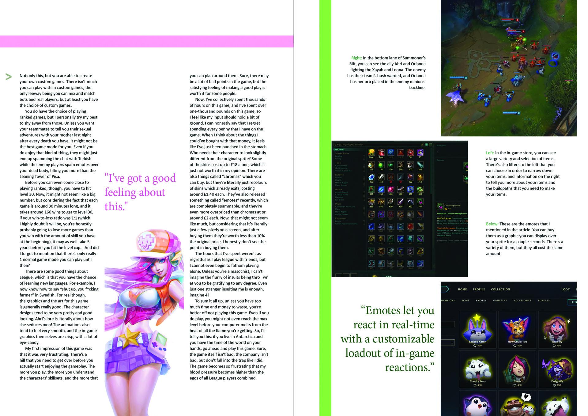 ArtStation - Magazine layout and front cover, Joe Lio