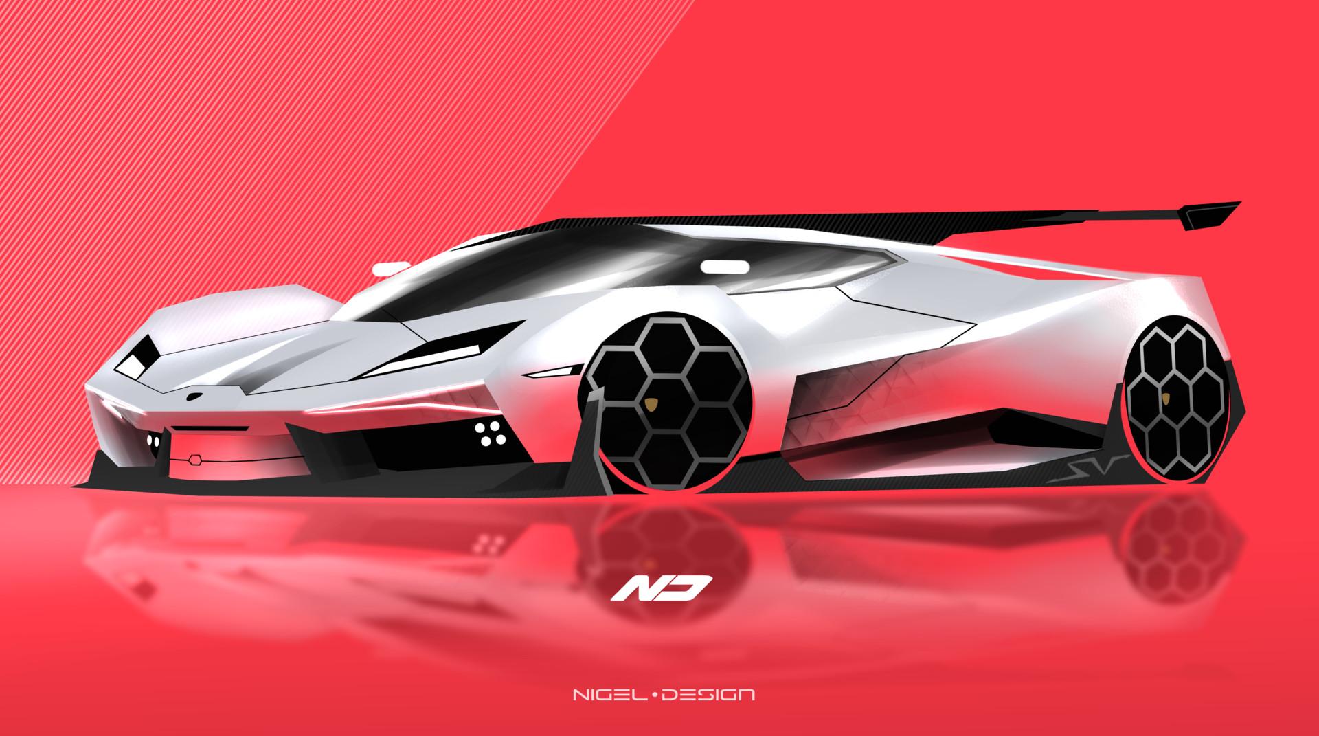Artstation Lamborghini Design Nigel Muller
