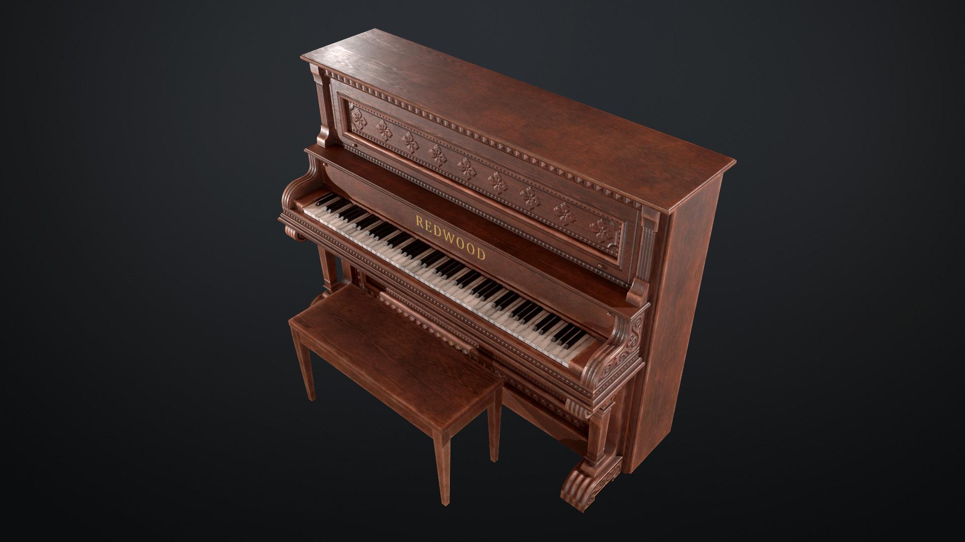 Sami tarvainen piano render 3
