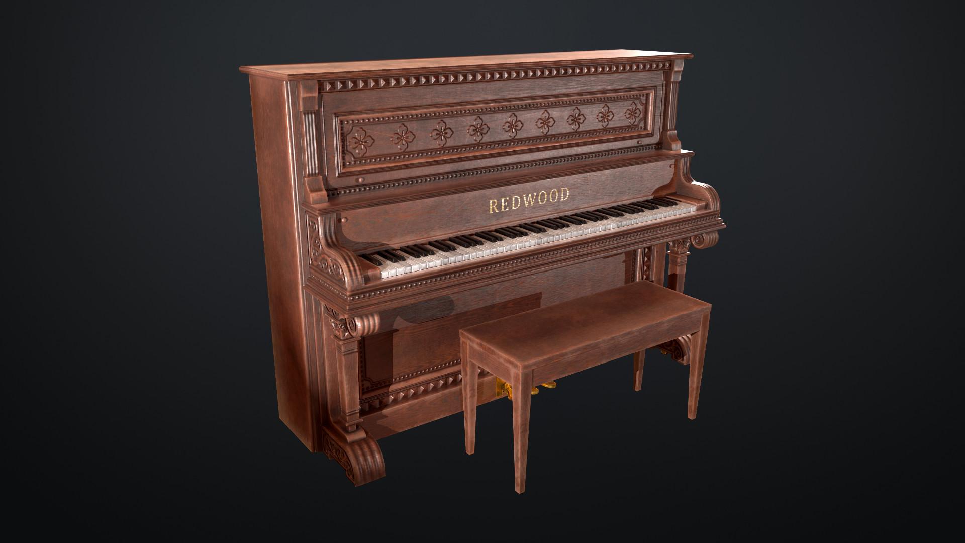 Sami tarvainen piano render 1