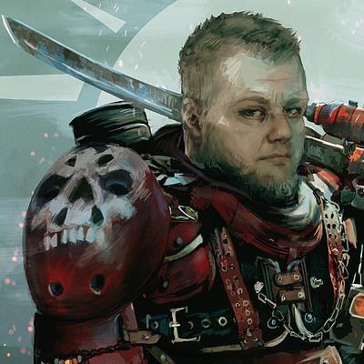Reliah a inquisitor portrait