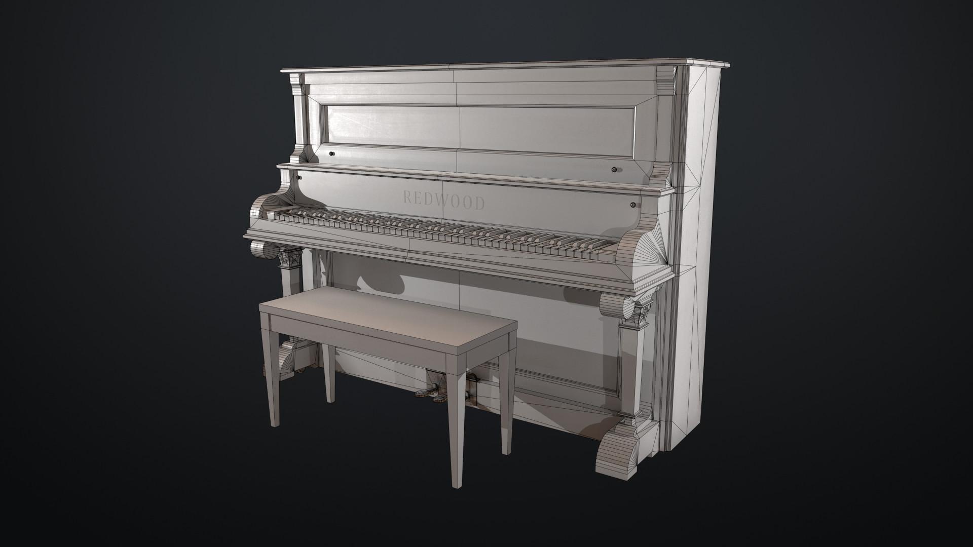 Sami tarvainen piano render 6