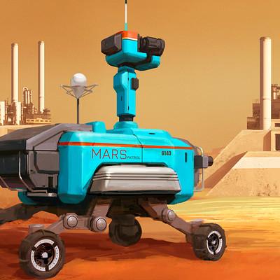 Natalia babiy mars blue rover 01