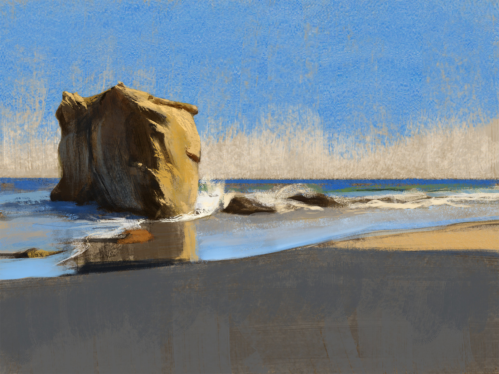 Andrew hunt pch beach color