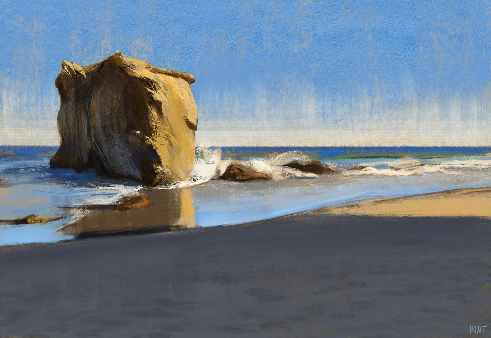 PCH Beach Plein Air