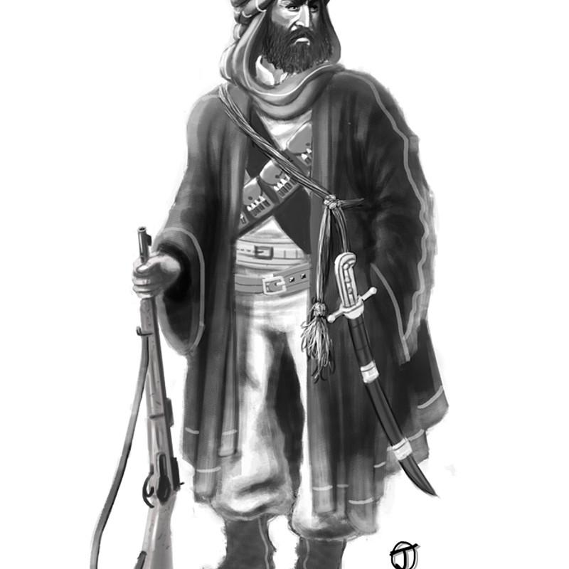 Bedouin Warrior