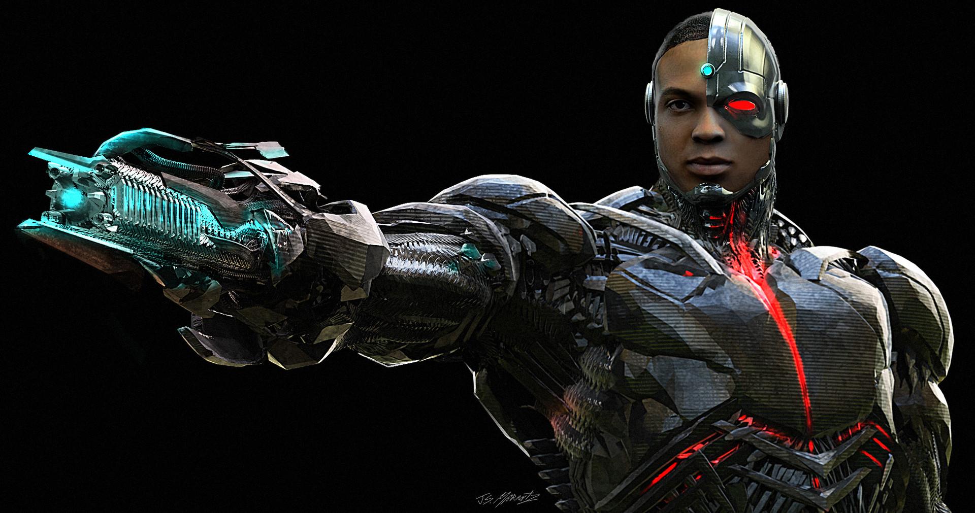 Jerx marantz cyborg gun hand 2 2